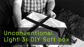 Unconventional Light 3: DIY Soft box