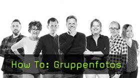 Portraits in Photoshop als Gruppe anordnen