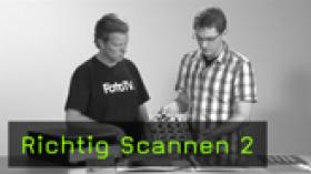 Richtig Scannen Scan-Workflow