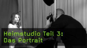 Portraitfotografie im Heimstudio