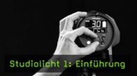 Reihe über Studiolicht bei FotoTV.