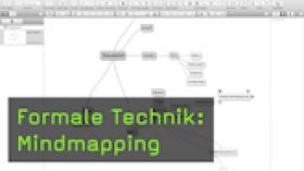 Formale Technik: Mindmapping