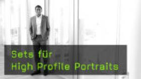 schnelle High Profile Portraits fotografieren