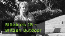 Outdoor-Shooting mit Aufsteckblitz fotografieren