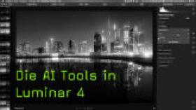 Schnelle Bildanpassungen mit den Luminar AI-Tools