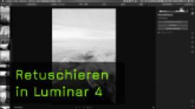 Bildretusche in Luminar 4