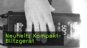 richter studiogeräte kompaktblitzgerät