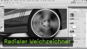 Radialer Weichzeichner