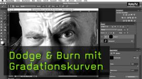 Dodge & Burn mit Gradationskurven