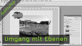 Umgang mit Ebenen in Photoshop
