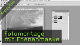 Fotomontage mit Ebenenmaske