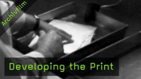 Printentwicklung, Dunkelkammer, Abzüge