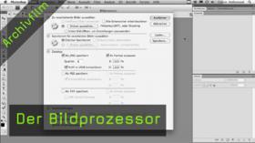 Calvin Hollywood Photoshop Bildprozessor, Stapelverarbeitung Photoshop