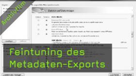 Metadaten, EXIF-Daten, Metadata Wrangler, Lightroom