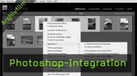 Photoshop-Integration, Lightroom