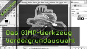 GIMP, Freistellen, Werkzeug, Tutorial, Vordergrund, Hintergrund, Auswahl