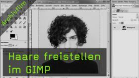 Haare freistellen, GIMP