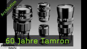 Tamron, Objektive, photokinaTV