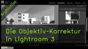 Lightroom 3, Objektivkorrektur, Vignettierung