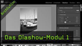 Lightroom, Diashow-Modul, Multivision, Diashow