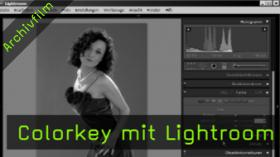 colorkey mit lightroom