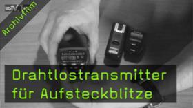 Drahtlostransmitter für Aufsteckblitze, Speedlite Transmitter, YONGNUO STE-2