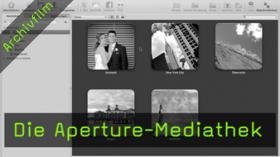 Mediathek, Aperture, Projekte, Alben