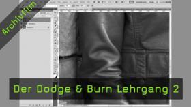 Dodge & Burn, Falten hervorheben, Kanten verstärken