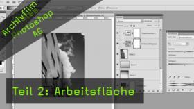 Kates Photoshop-AG, Arbeitsfläche