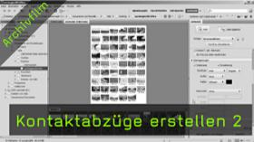 Kontaktabzug in Adobe Bridge erstellen