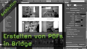 Erstellen von PDFs in Bridge