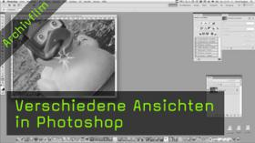 Vollbildmodus in Photoshop, Fensteransicht
