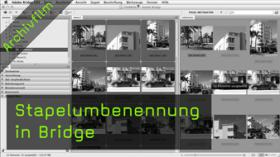 Stapelumbenennung in Bridge