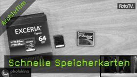 photokinaTV - Schnelle Speicherkarten