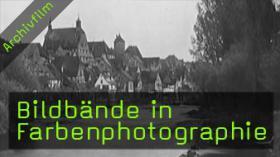 Bildbände in Farbenphotographie, historische Farbfotos