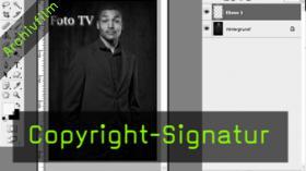 Calvin Hollywood Photoshop Signatur erstellen