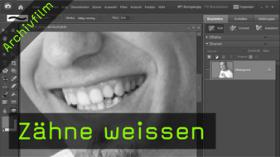 Zähne weissen in Photoshop Elements