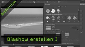 Photoshop Elements, Diashow erstellen