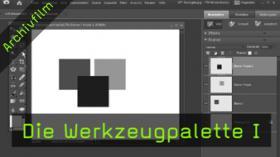Werzeugpalette, Photoshop Elements, Pipette, Füllwerkzeug