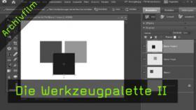 Werzeugpalette, Photoshop Elements, Auswahlrechteck