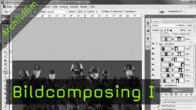 Photoshop PSD Composing Tutorial Bildbearbeitung