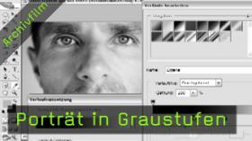 Graustufen Umwandlung Photoshop Tutorial FotoTV