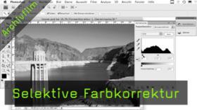 selektive Farbkorrektur in Photoshop