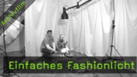 Einfaches Fashionlicht, Fotoworkshop, Fotokurs