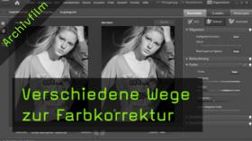 Farbstiche entfernen, Photoshop Elements Tutorial