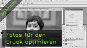 Druckoptimierung, Photoshop, Karma Kalender