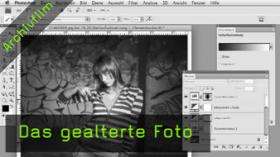 Antik-Look, Photoshoptutorial, gealtertes Foto
