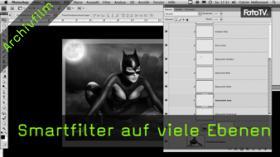 Smartfiler, Smartobjekt, Photoshop Tutorial, Bildbearbeitung, Composing