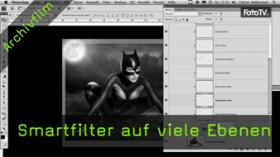 Smartfiler, Smartobjekt, Photoshop Tutorial, Bildbearbeitung, Composing