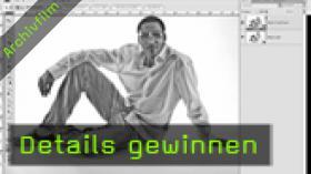 Calvin Hollywood Photoshop Kontrast erhöhen, Raw Converter Photoshop